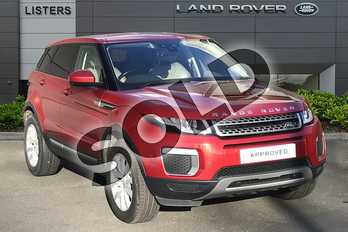 Range Rover Evoque 2.0 eD4 SE 5dr 2WD in Firenze Red at Listers Land Rover Droitwich