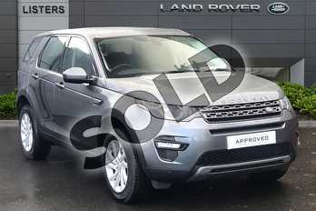 Land Rover Discovery Sport 2.0 TD4 180 SE Tech 5dr Auto in Corris Grey at Listers Land Rover Droitwich