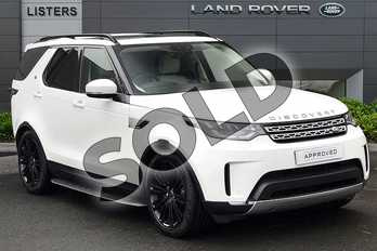 Land Rover Discovery 2.0 SD4 HSE 5dr Auto in Fuji White at Listers Land Rover Droitwich