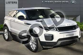 Range Rover Evoque 2.0 eD4 SE Tech 3dr 2WD in Yulong White at Listers Land Rover Droitwich