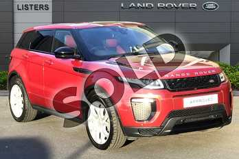 Range Rover Evoque 2.0 TD4 HSE Dynamic 5dr in Firenze Red at Listers Land Rover Droitwich