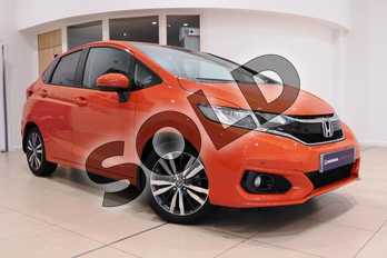 Honda Jazz 1.3 EX 5dr in Sunset Orange Ii at Listers Honda Coventry