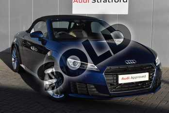Audi TT 1.8T FSI Sport 2dr in Scuba Blue Metallic at Stratford Audi