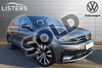 Volkswagen Tiguan 2.0 TDI 150 4Motion R Line 5dr DSG in Indium Grey at Listers Volkswagen Coventry