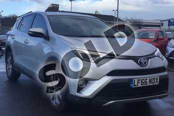 Toyota RAV4 2.5 VVT-i Hybrid Business Edition Plus 5dr CVT 2WD in Silver at Listers Toyota Lincoln