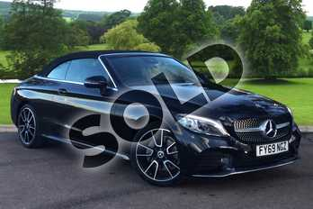 Mercedes-Benz C Class C220d AMG Line Premium 2dr 9G-Tronic in obsidian black metallic at Mercedes-Benz of Grimsby