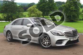 Mercedes-Benz S Class S500L AMG Line Executive/Prem Plus 4dr 9G-Tronic in Iridium Silver metallic at Mercedes-Benz of Grimsby