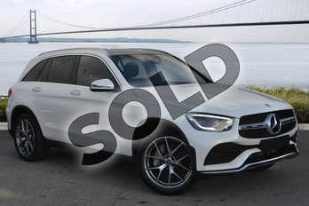 Mercedes-Benz GLC GLC 300 4Matic AMG Line Premium Plus 5dr 9G-Tronic in designo diamond white bright at Mercedes-Benz of Hull