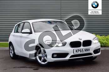 BMW 1 Series 118i (1.5) SE 5dr Step Auto in Alpine White at Listers Boston (BMW)