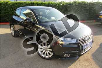 Audi A1 1.2 TFSI Sport 3dr in Solid - Brilliant black at Listers U Boston