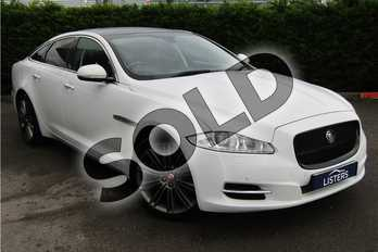 Jaguar XJ 3.0d V6 Luxury 4dr Auto (8) in Solid - Polaris White at Listers U Boston