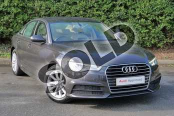 Audi A6 2.0 TDI Ultra SE Executive 4dr S Tronic in Oolong Grey Metallic at Worcester Audi