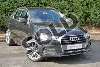 Audi Q3 2.0 TDI (184) Quattro SE 5dr in Mythos Black, metallic at Worcester Audi