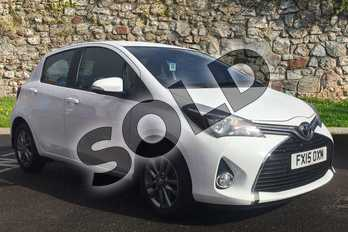 Toyota Yaris 1.33 VVT-i Icon 5dr in Pure White at Listers Toyota Boston