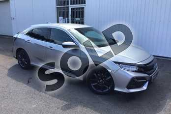 Honda Civic 1.6 i-DTEC SR 5dr in Lunar Silver M at Listers Honda Coventry