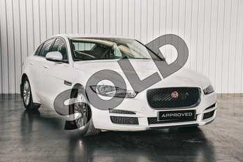 Jaguar XE 2.0d (180) Prestige 4dr Auto in Fuji White at Listers Jaguar Solihull