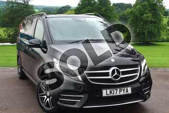 Mercedes-Benz V Class V250 d AMG Line 5dr Auto (Extra Long) in obsidian black metallic at Mercedes-Benz of Grimsby