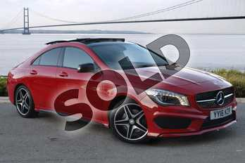 Mercedes-Benz CLA Class CLA 220d (177) AMG Sport 4dr Tip Auto in Jupiter Red at Mercedes-Benz of Hull