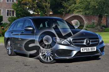 Mercedes-Benz C Class C250d AMG Line 5dr Auto in Selenite Grey metallic at Mercedes-Benz of Lincoln