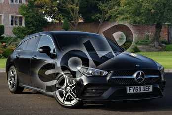 Mercedes-Benz CLA Class CLA 200 AMG Line Premium 5dr Tip Auto in Cosmos Black Metallic at Mercedes-Benz of Lincoln