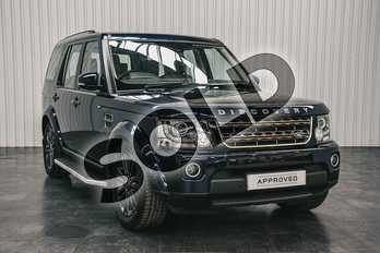 Land Rover Discovery 3.0 SDV6 Graphite 5dr Auto in Loire Blue at Listers Land Rover Solihull