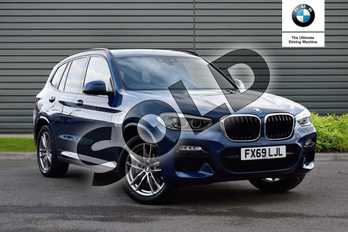 BMW X3 xDrive20i M Sport 5dr Step Auto in Phytonic Blue at Listers Boston (BMW)