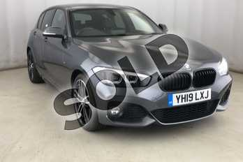 BMW 1 Series 125i (224) M Sport Shadow Ed 5dr Step Auto in Mineral Grey at Listers King's Lynn (BMW)