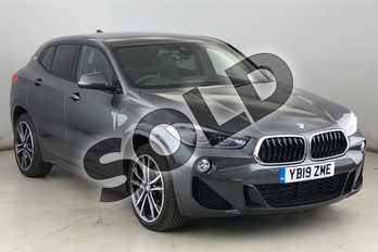BMW X2 xDrive 20d M Sport 5dr Step Auto in Mineral Grey at Listers King's Lynn (BMW)