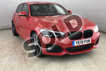 BMW 1 Series 125d M Sport Shadow Ed 5dr Step Auto in Melbourne Red metallic at Listers King's Lynn (BMW)