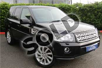 Land Rover Freelander 2.2 TD4 HSE 5dr Auto in Metallic - Sumatra Black at Listers U Boston