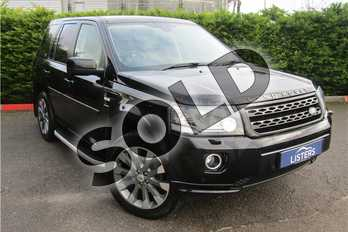 Land Rover Freelander 2.2 SD4 HSE LUX 5dr Auto in Metallic - Santorini black at Listers U Boston