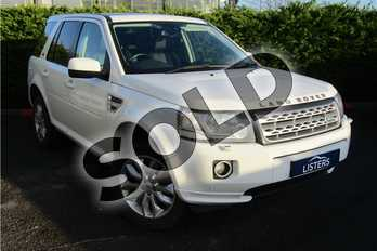 Land Rover Freelander 2.2 TD4 HSE LUX 5dr in Solid - Fuji white at Listers U Boston