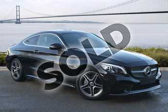 Mercedes-Benz C Class C220d AMG Line Premium 2dr 9G-Tronic in obsidian black metallic at Mercedes-Benz of Hull