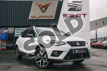 SEAT Arona 1.0 TSI 115 FR Sport (EZ) 5dr in White at Listers SEAT Coventry