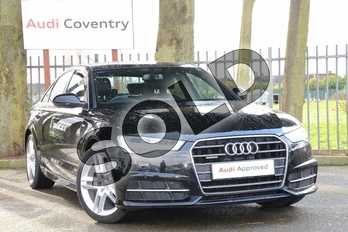 Audi A6 2.0 TDI Quattro S Line 4dr S Tronic in Myth Black Metallic at Coventry Audi