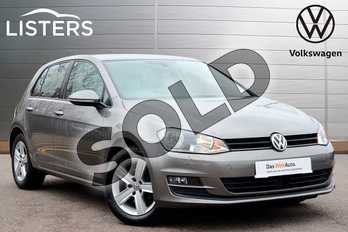 Volkswagen Golf 1.4 TSI 125 Match Edition 5dr DSG in Limestone Grey at Listers Volkswagen Leamington Spa