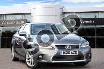 Lexus CT 200h 1.8 Premier 5dr CVT Auto in Mercury Grey at Lexus Coventry