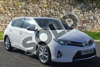 Toyota Auris 1.4 D-4D Icon 5dr in White at Listers Toyota Grantham