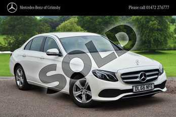 Mercedes-Benz E Class E220d SE 4dr 9G-Tronic in designo diamond white at Mercedes-Benz of Grimsby