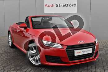 Audi TT 2.0T FSI Sport 2dr S Tronic in Tango Red Metallic at Stratford Audi