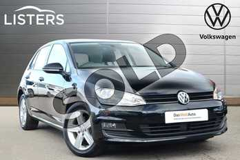 Volkswagen Golf 1.4 TSI 125 Match Edition 5dr in Flat Black at Listers Volkswagen Coventry