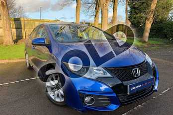 Honda Civic 1.6 i-DTEC SE Plus 5dr  in Brilliant Sporty Blue at Listers Honda Coventry