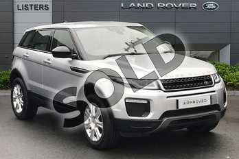 Range Rover Evoque 2.0 TD4 SE Tech 5dr Auto in Indus Silver at Listers Land Rover Droitwich