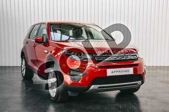 Land Rover Discovery Sport 2.0 TD4 180 HSE 5dr Auto in Firenze Red at Listers Land Rover Solihull