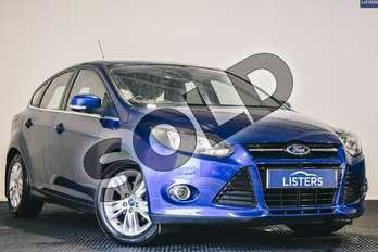 Ford Focus 1.6 TDCi 115 Titanium Navigator 5dr in Metallic - Deep impact blue at Listers U Stratford-upon-Avon