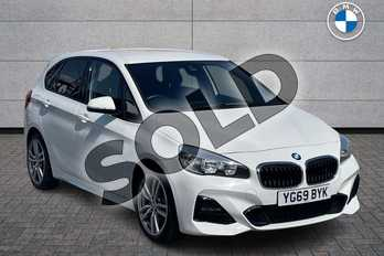 BMW 2 Series 218i M Sport 5dr in Alpine White at Listers Boston (BMW)