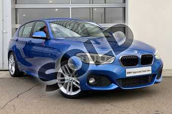 BMW 1 Series 116d M Sport 5dr in Estoril Blue at Listers King's Lynn (BMW)