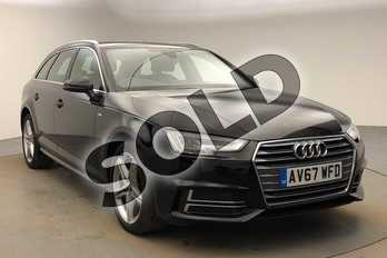 Audi A4 1.4T FSI S Line 5dr (Leather/Alc) in Brilliant Black at Birmingham Audi