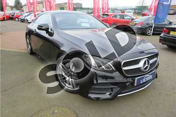 Mercedes-Benz E Class E300 AMG Line 2dr 9G-Tronic in Metallic - Obsidian black at Listers Toyota Grantham