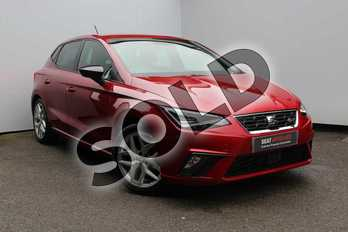 SEAT Ibiza 1.0 TSI 95 FR (EZ) 5dr in Red at Listers SEAT Worcester